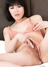 Japanese Ladyboy Yoko Masturbation and Squirt