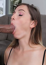 "Let's hop right into this hardcore interracial fuck scene! Welcome Korra Del Rio in ""Give Me That Black Cock!"""